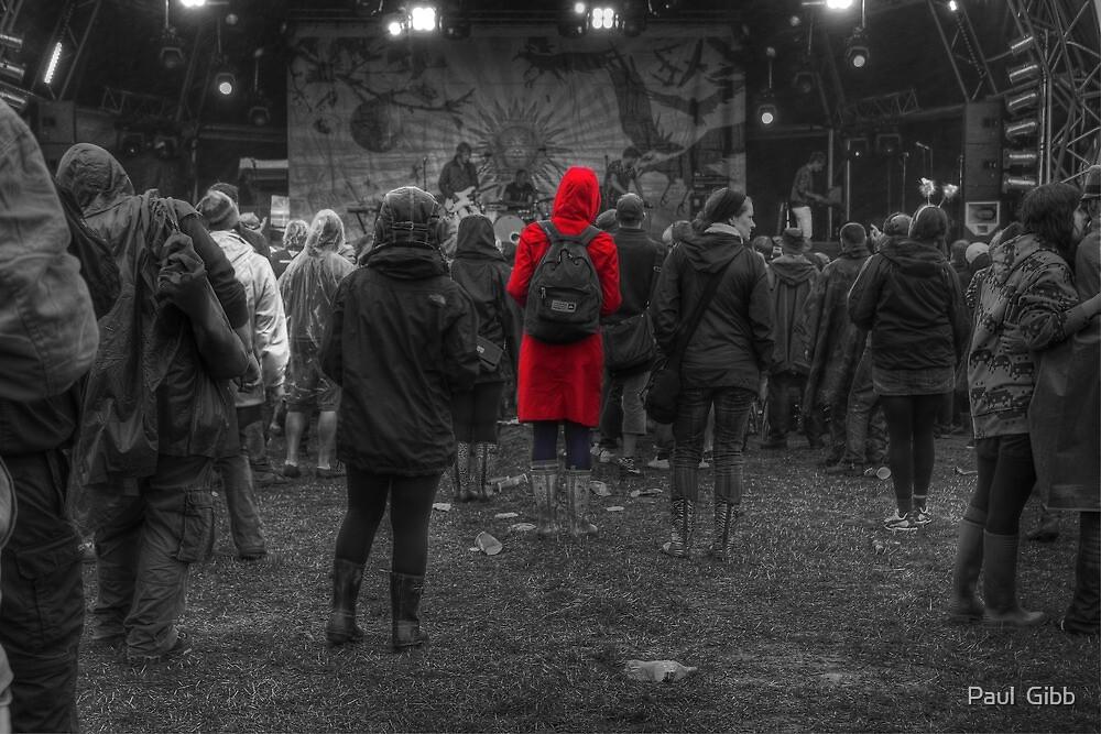 Girl in Red by Paul  Gibb