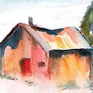 Shed I by Marsha Woods