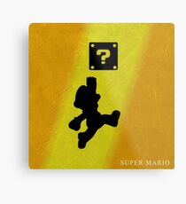 Super Mario - Metal Series  Metal Print