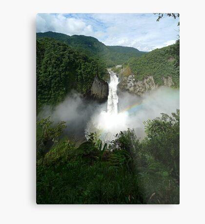 San Rafael Falls - Ecuador Metal Print