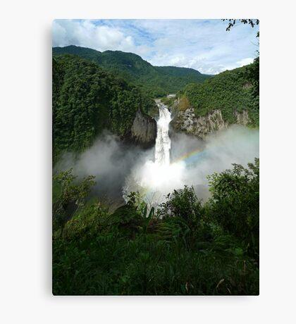 San Rafael Falls - Ecuador Canvas Print