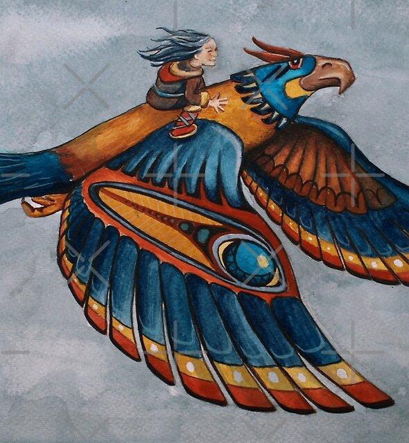 Thunderbird by Sarah  Mac Illustration