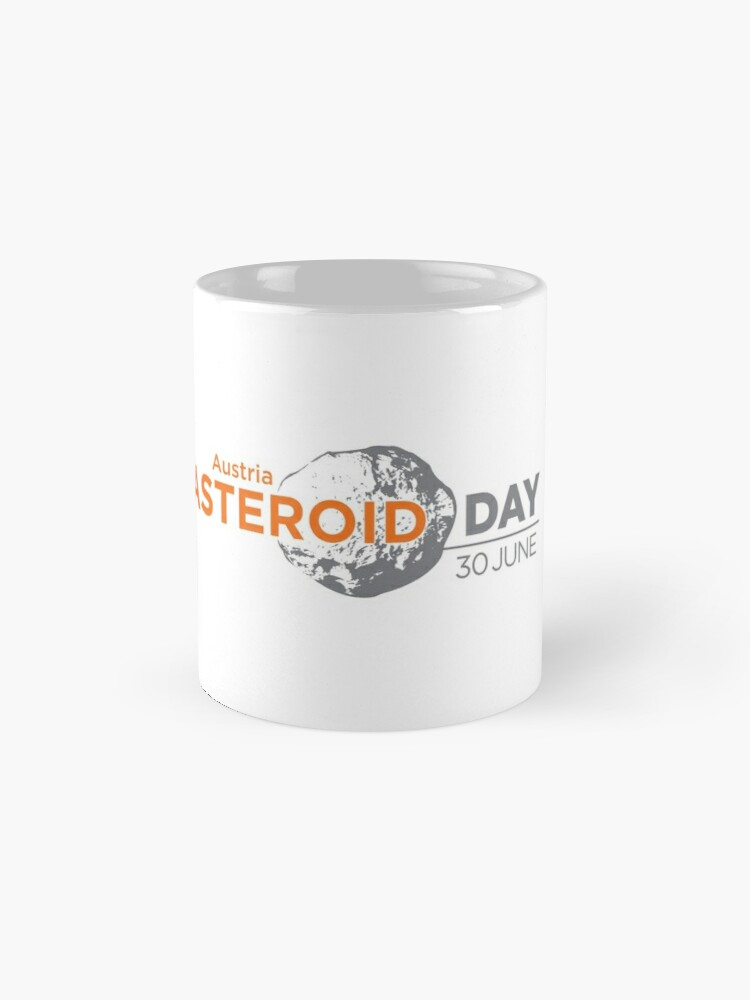 Alternate view of Asteroid Day Austria Mugs