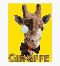 Jeffery the Giraffe Photographic Print
