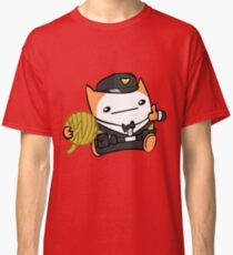 Battle Block Theater Cat Classic T-Shirt