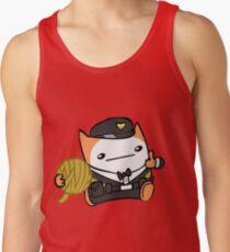 Battle Block Theater Cat Tank Top