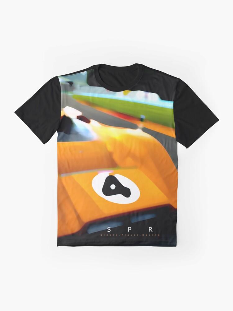 Alternate view of McLaren Can-Am 1969 Design Graphic T-Shirt