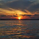 Sunset From The Water by AcePhotography