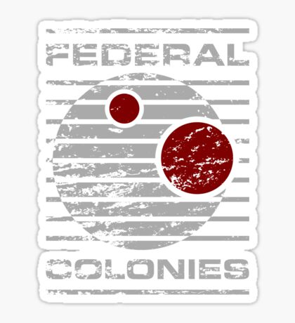 Federal Colonies Sticker