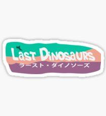 Last Dinosaurs - In a Million Years Sticker