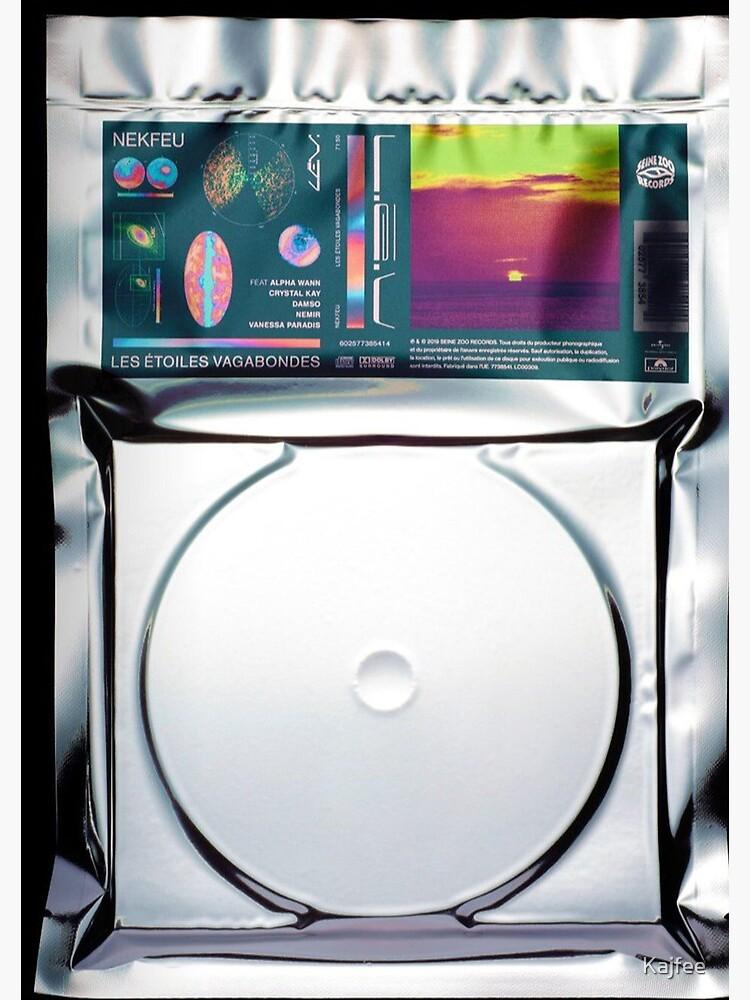 Nekfeu Les Etoiles Vagabondes Album Cover Feu Cyborg Spiral Notebook