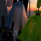 Sunrise on the Chesapeake Bay by Marcia Rubin
