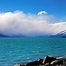 Lake Pukaki panorama, Aug 2010 by Odille Esmonde-Morgan