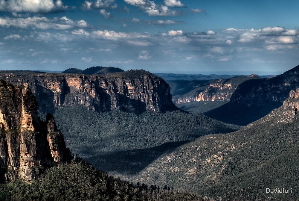 Quot Grose Valley Blue Mountains Australia Quot By Davidiori