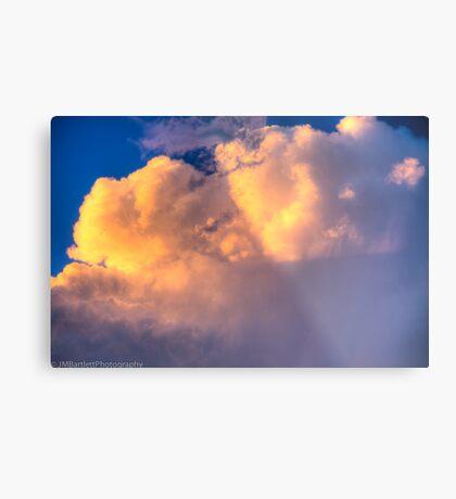 Beautiful Stormy Sky Metal Print