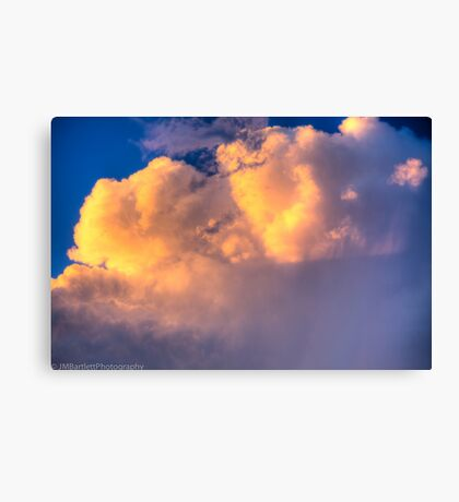 Beautiful Stormy Sky Canvas Print