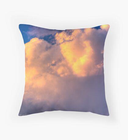 Beautiful Stormy Sky Throw Pillow