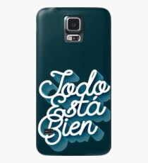 Todo Esta Bien (Faded Blue) Case/Skin for Samsung Galaxy