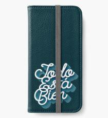 Todo Esta Bien (Faded Blue) iPhone Wallet/Case/Skin