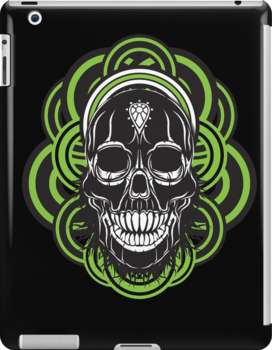 Sarcastic skull by Chrome Clothing