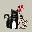 Milo 'n Tiggs by Carrie Mitchell