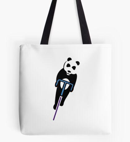 Panda Fixie Tote Bag