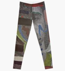 Dustin Ransom - Thread On Fire (Original Album Art) Leggings