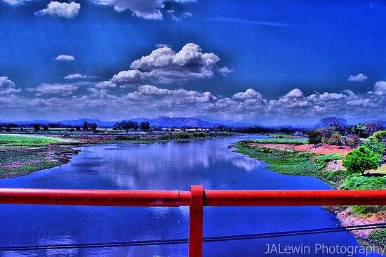 Bridge over Lempa River by jalewin