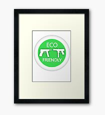 Eco Friendly Framed Print