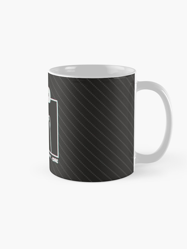 Alternate view of Honey Badger Don't Care - Monochrome 3D Mug