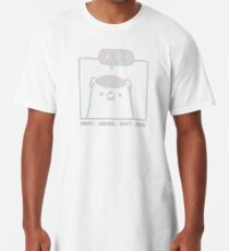 Honey Badger Don't Care - Monochrome 3D Long T-Shirt