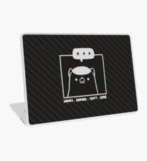Honey Badger Don't Care - Monochrome 3D Laptop Skin
