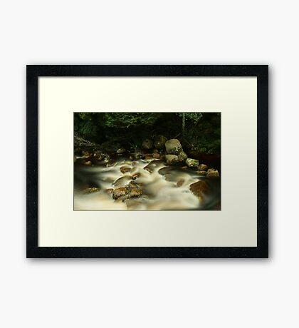 River Rapids... Framed Print