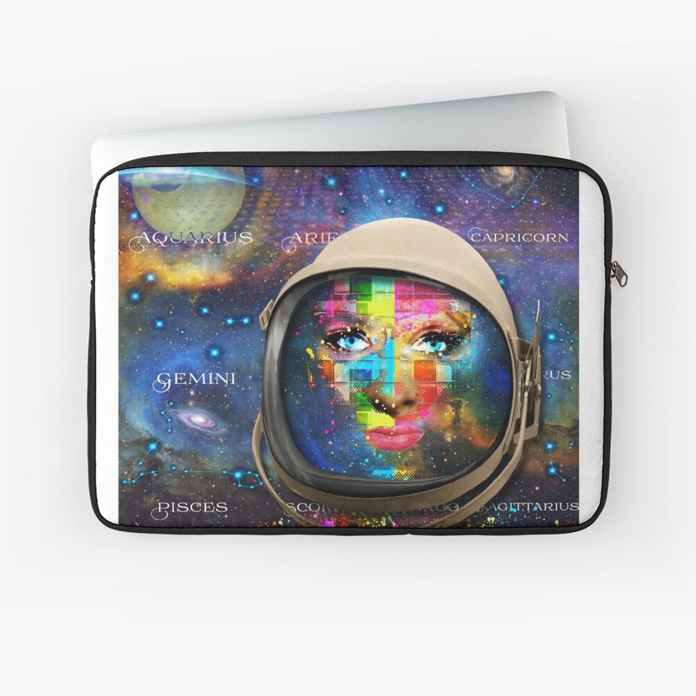 'THE FACE OF THE UNIVERSE' Laptop Sleeve