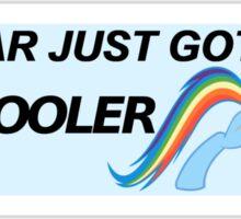 Rainbow Dash - Cool Sticker  Sticker