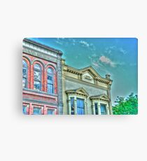 The Terry Building Port Townsend , Washington  Canvas Print
