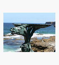 Sculptures by the sea - Bondi Photographic Print