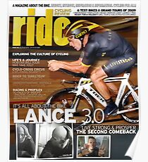 RIDE Cycling Review Issue 43 - Lance Armstrong Poster