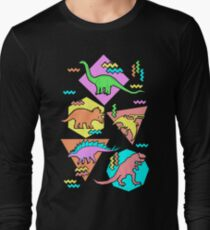 Nineties Dinosaurs Pattern T-Shirt