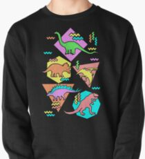 Nineties Dinosaurs Pattern Pullover