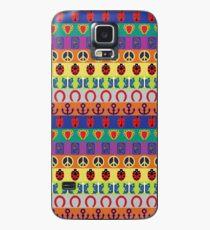 Jojo's Bizarre Adventure - Teil Symbole bunte Muster Hülle & Klebefolie für Samsung Galaxy