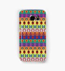 Jojo's Bizarre Adventure - Part Symbols Colorful Pattern Samsung Galaxy Case/Skin