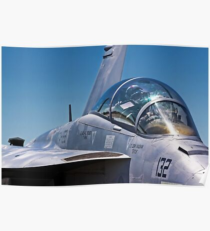 Fighter Jet II Poster