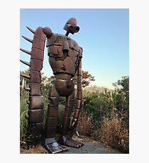 Robot from Castle in the Sky Photographic Print