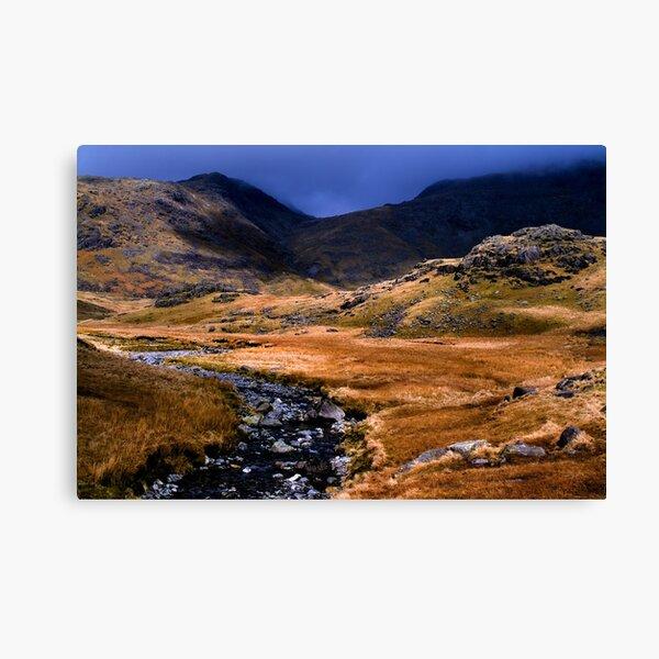 Upper Eskdale - The Lake District Canvas Print