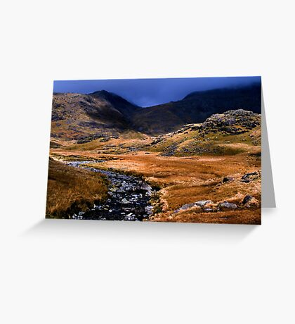Upper Eskdale - The Lake District Greeting Card