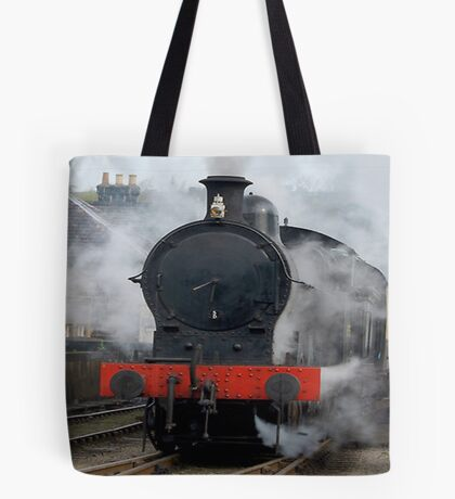 Smoke Gets In Your Eyes Tote Bag