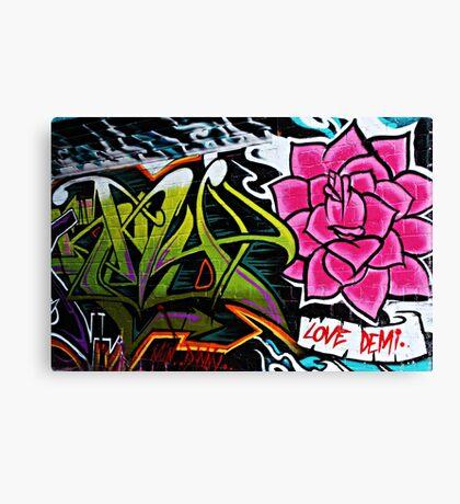 Love Demi Canvas Print