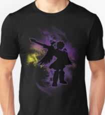 Super Smash Bros Purple Dark Pit Silhouette T-Shirt