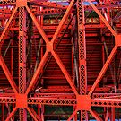 Structural Steel of the Golden Gate Bridge by Cupertino